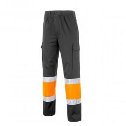 Pantalón Multibolsillos Bicolor 100% Algodón