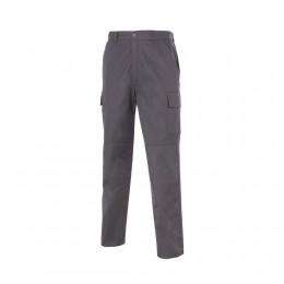 Pantalón Reforzado Multibolsillos 65% Pol - 35% Alg.