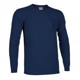 Camiseta m/l CON BOLSILLO 100% Algodón